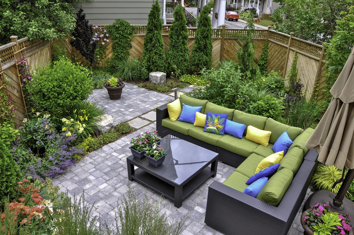 محوطه سازی و ایجاد فضای سبز