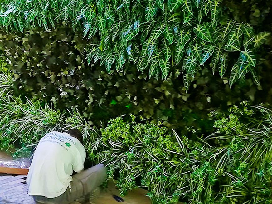 طراحی و اجرای دیوار سبز (Green Wall)
