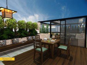 Roof-Garden-Design-Qazvin-Mir-Emad-1