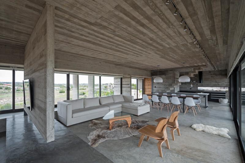 کاربردهای بتن اکسپوز در سقف