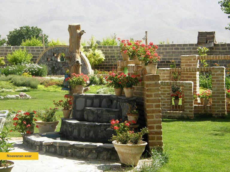 نکات مهم در طراحی و محوطه سازی انواع باغ