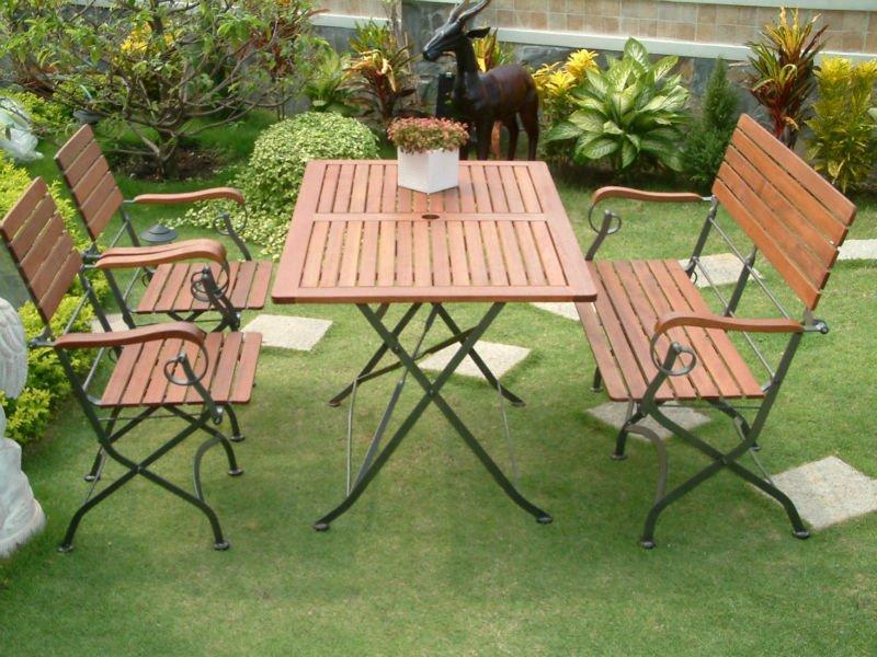 میز و صندلی فلزی ویلایی | صندلی ویلایی فلزی | مبلمان فلزی باغی
