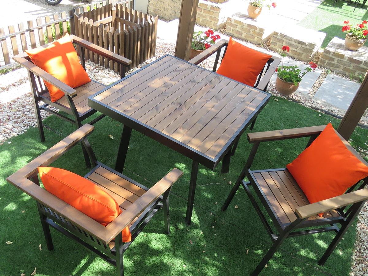 میز و صندلی فضای باز | صندلی فضای باز | ست میز و صندلی فضای باز