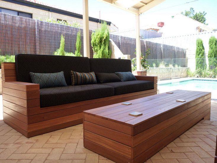 مبل چوبی فضای باز | بهترین چوب برای مبلمان چوبی در فضای باز