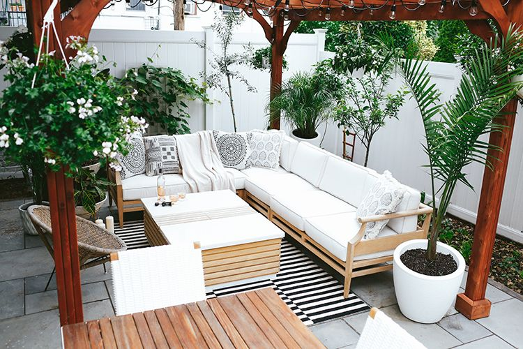 طراحی و ساخت انواع مبلمان حیاط خلوت و مبلمان پاسیو