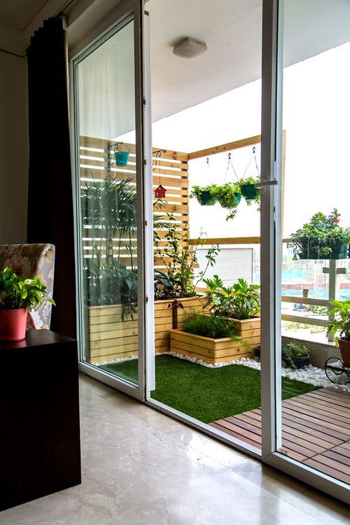 طراحی تراس آپارتمان   طراحی تراس خانه