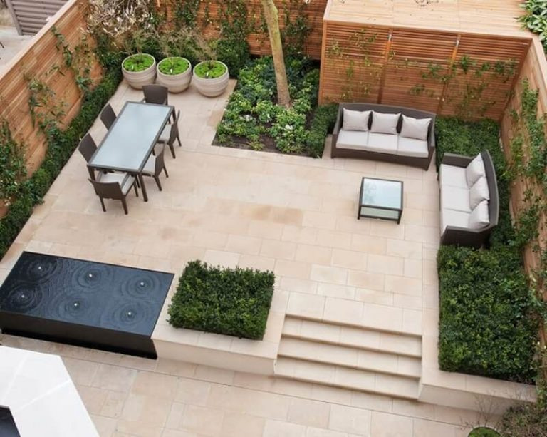 محوطه سازی حیاط بزرگ | محوطه سازی حیاط کوچک